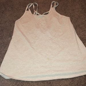 Old navy work out tank white
